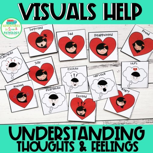 Visuals Help Understanding Thoughts & Feelings