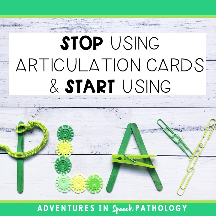 Stop using articulation cards