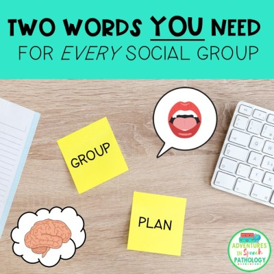 The two words you need to use for every Social group