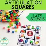 Articulation Squares