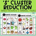 S Cluster Reduction Bingo Boards