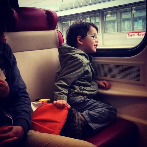 train, NYC, New Haven train