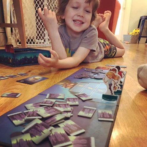 Loves board games