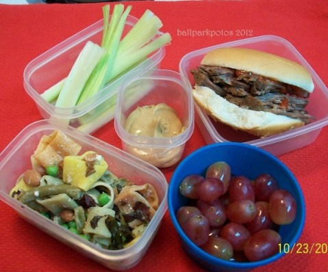 40 packed lunch ideas