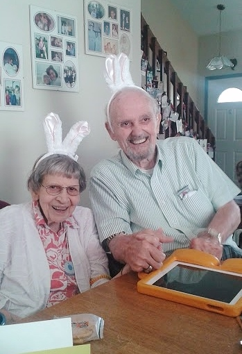 pops and gma Easter 2015