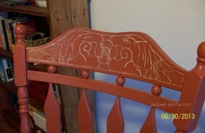DIY etched wood rocker