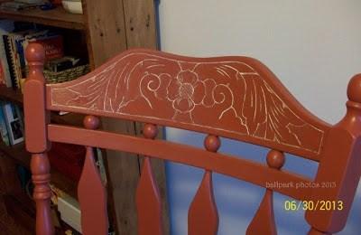 DIY etched wood rocker