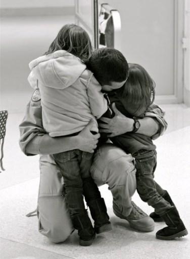Memorial Day - American dad comes home