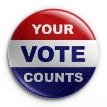 vote pin