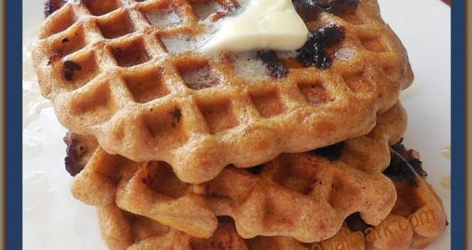 whole wheat waffles (2)