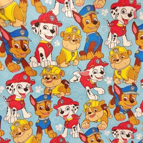 paw patrol fabric