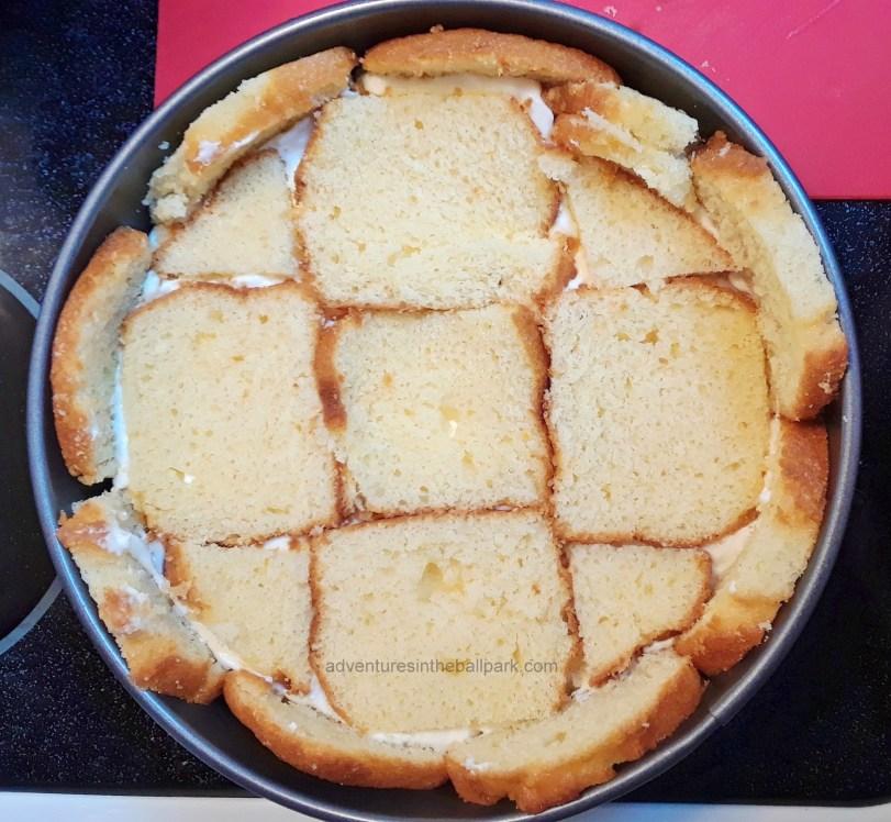 pound cake layers