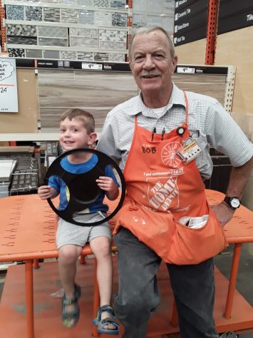 Bob and James at HD
