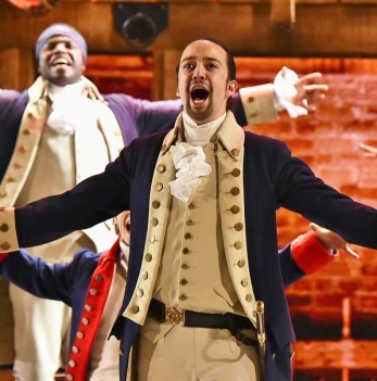 Lin-Manuel as Hamilton