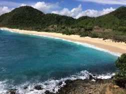 to find our own private beach