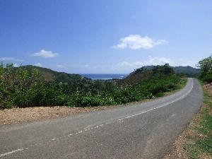 Winding roads of south Lombok