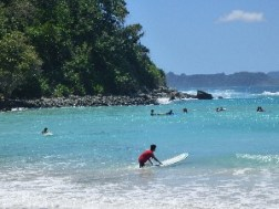 One of the beginners surfing beaches.
