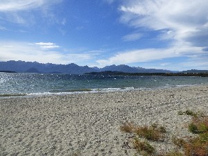 Manapouri Lake, the photos do not do it justice, it was amazing!