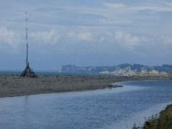 View from Duneslip point, Motueka back towards Ruby Bay