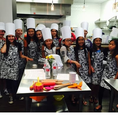 kids private cooking camps