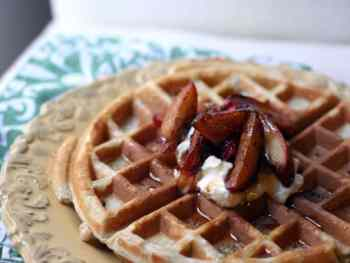 Cookings Tips: How To Freeze Waffles (Apple Waffles)