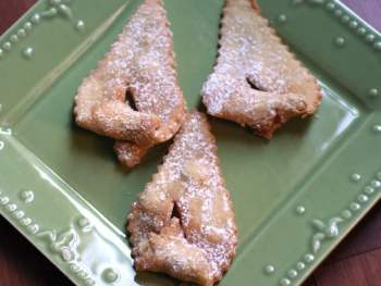 Holiday Traditions:  Making Fattigman Cookies