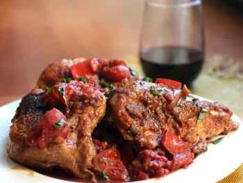 Chicken Mole, Braised Chicken in Red Wine Sauce and More