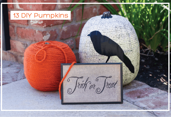 13 DIY Pumpkins For Your Home