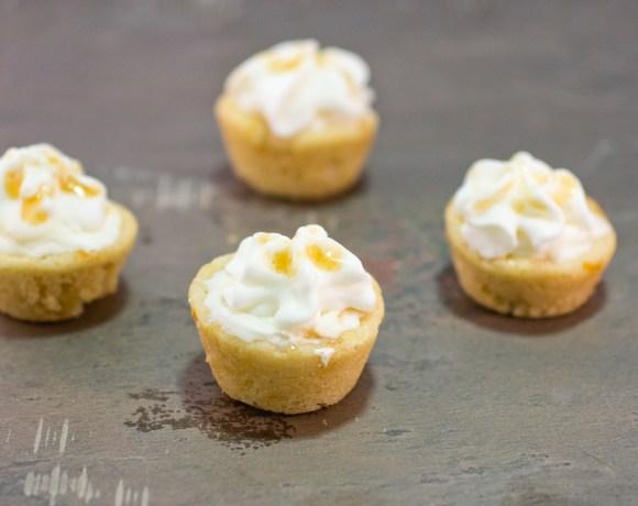 Mini Orange Creamsicle Cheesecake Pots