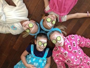 Mom & Me Kids DIY Spa Party