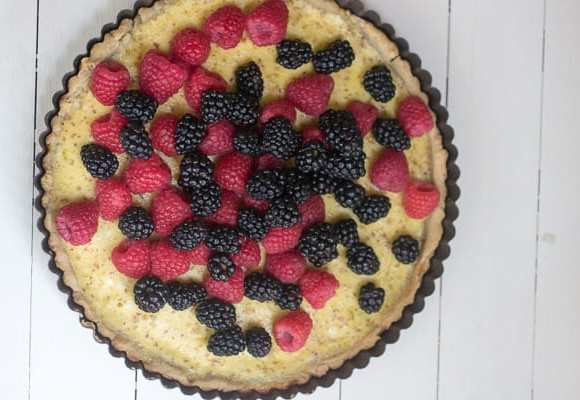 Gluten Free Lemon Berry Tart