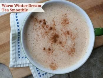 Warm Winter Dream Tea Smoothie