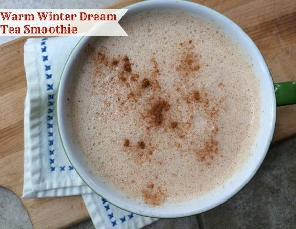 Warm Winter Dream Tea Smoothie