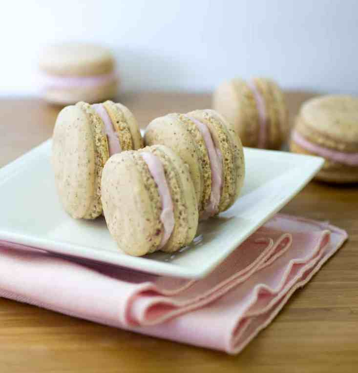 Vanilla Macarons 1