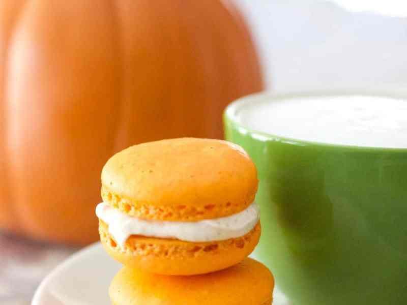 Pumpkin Spice Latte Macarons Cheri Liefeld