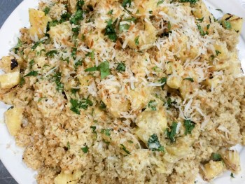 coconut lime quinoa recipe