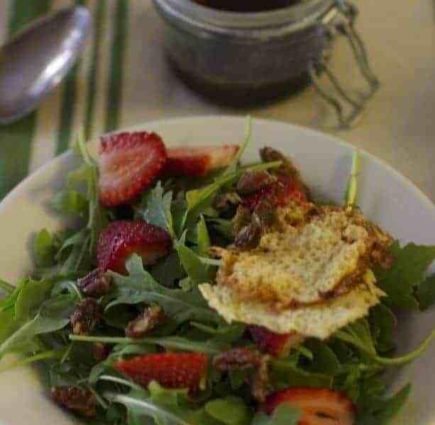 Strawberry Parmesan Salad