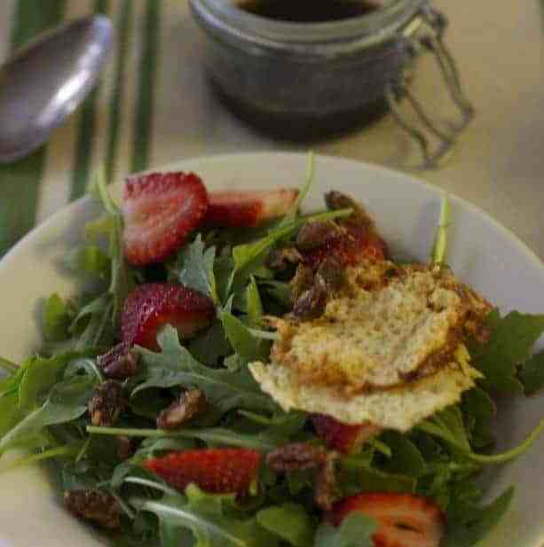 Strawberry Parmesan Salad