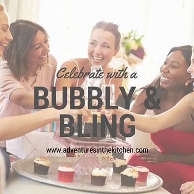 Bubbly & Bling Cooking Party