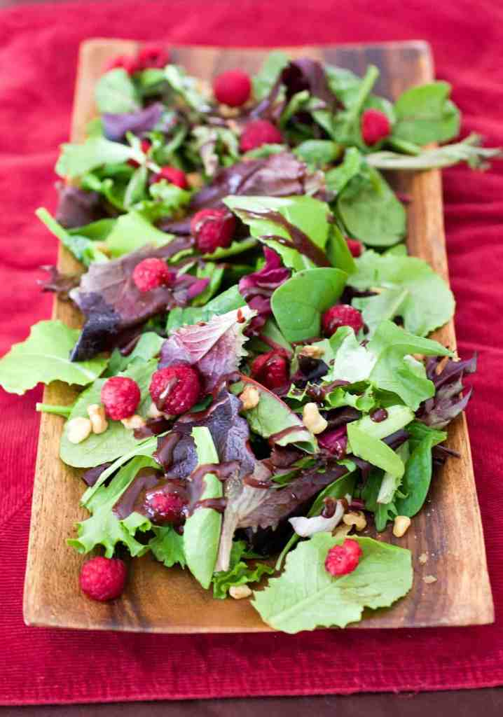 Salad-with-Chocolate-Balsamic-Vinaigrette