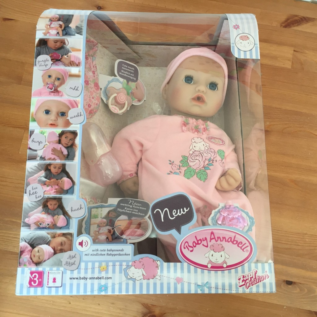 Baby Annabell Interactive Doll Review