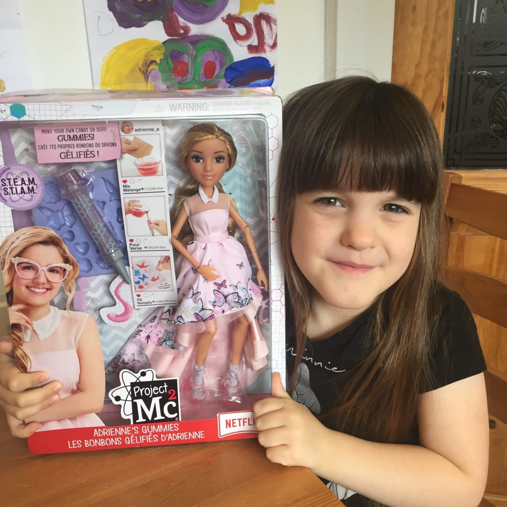 Project MC2 Doll With Experiments – Adrienne's Gummies {Review}
