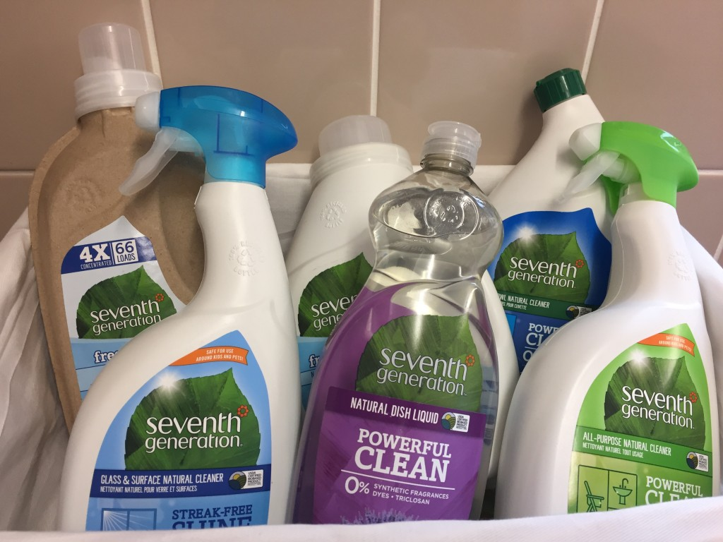 Seventh Generation Cleaning Hamper Review & Giveaway