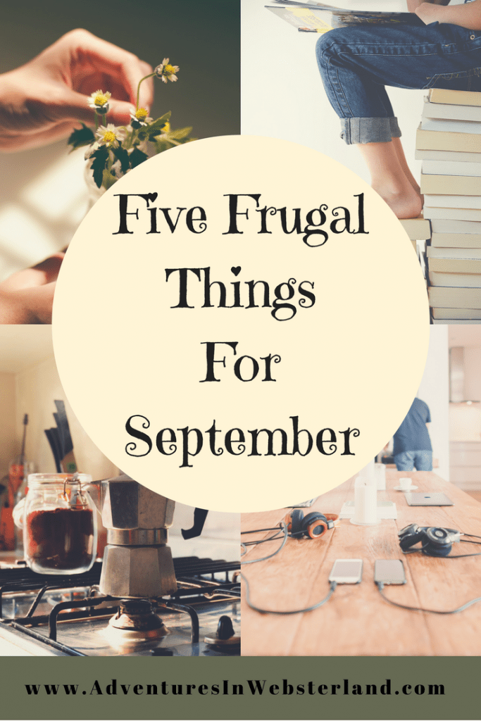 Five Frugal Things For September