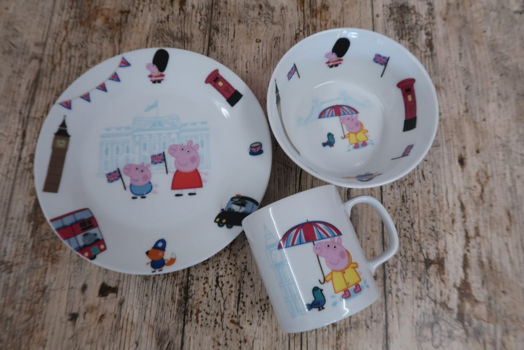 Meal Time Fun With Peppa Pig & Portmeirion {Review & Giveaway}