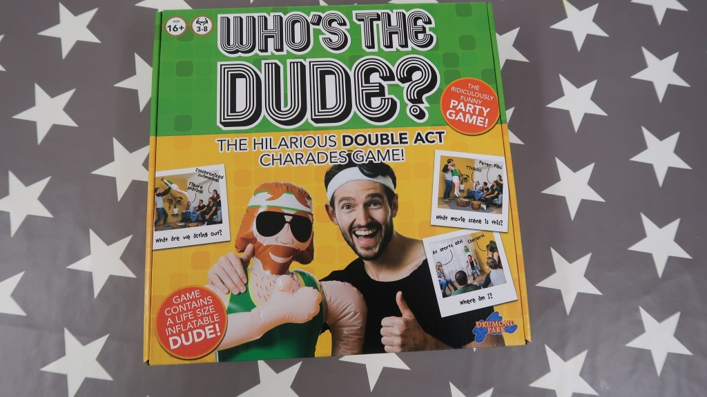 Who's The Dude ? {Review & Giveaway}