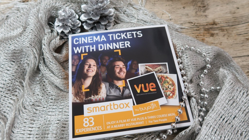 Buyagift Cinema Tickets With Dinner Smartbox Experience {Review}