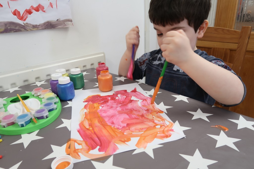 Getting Messy With Crayola