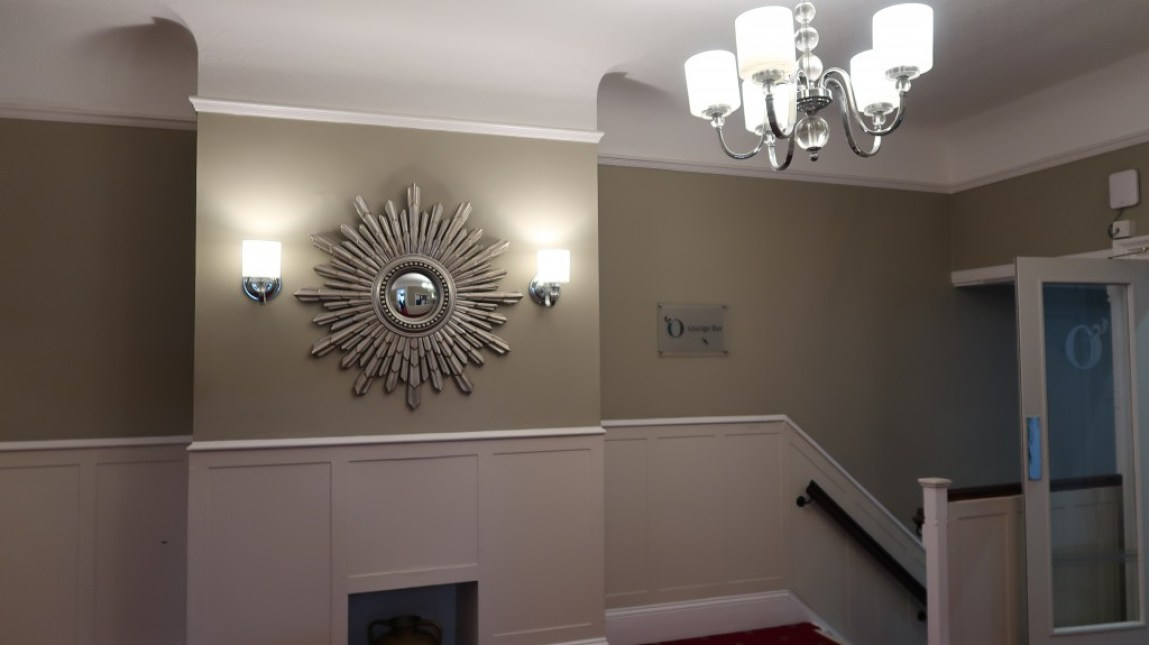 reception area Ommaroo Hotel In Jersey