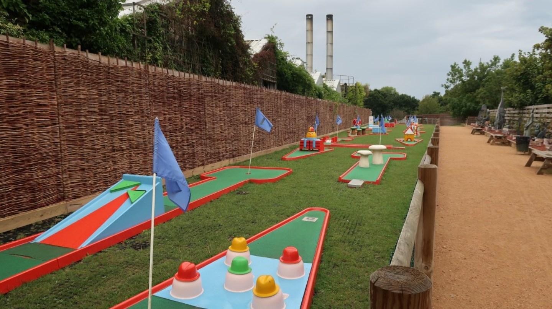 minigolf course Tamba Park Jersey